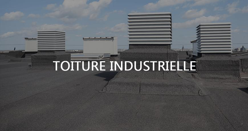 Toiture industrielle Longueuil.